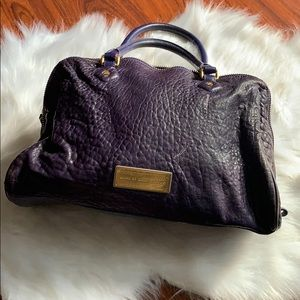 Authentic Pebbled Leather Marc Jacobs Satchel